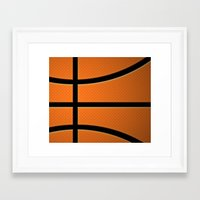 basketball Framed Art Prints featuring Basketball by Eye Shutter to Think Photography