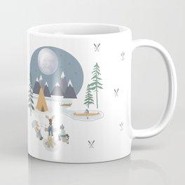 Camp Sleepy Moon (Large Print) Coffee Mug