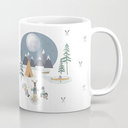 Camp Sleepy Moon (Large Print) Coffee Mug