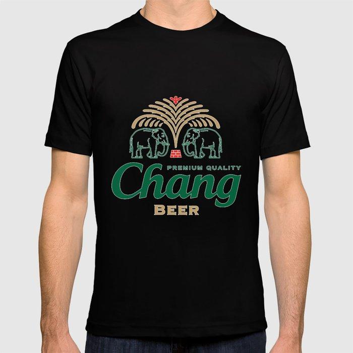 Chang Beer T-shirt by thonghj | Society6