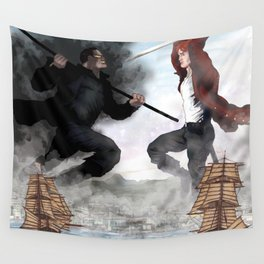 Rand in the Sky over Falme Wall Tapestry