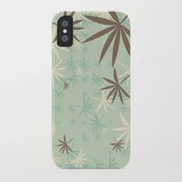 1d iPhone & iPod Cases featuring Leaves 1D by Patterns of Life