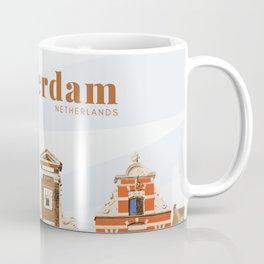 Amsterdam buildings Netherlands Coffee Mug