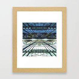 Gravity Core Framed Art Print