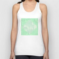 plant Tank Tops featuring Plant by Mr and Mrs Quirynen