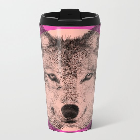 Wild 7 - by Eric Fan and Garima Dhawan Metal Travel Mug