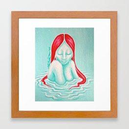 Lilylivered Framed Art Print