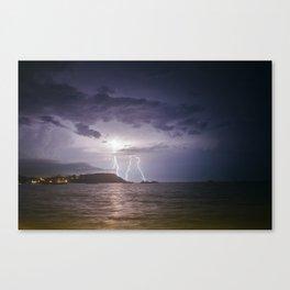 Lightning Storm over Koh Samui Canvas Print