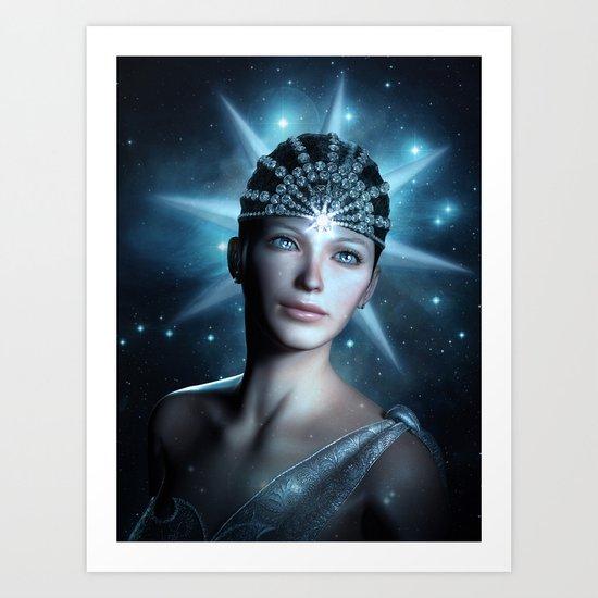 Starlight Beauty Art Print
