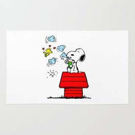 Snoopy and Woodstock Rug