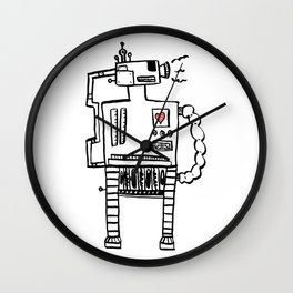 I Be Your Love Machine Wall Clock