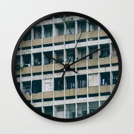 Saigon grid Wall Clock