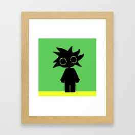 Mr. Bloop Framed Art Print