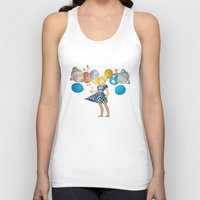 solar system Tank Tops featuring Solar System by Owlsoul
