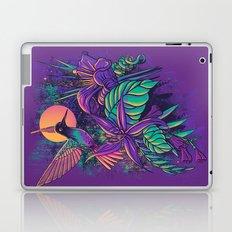 Purple Garden Laptop & iPad Skin