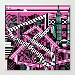 KL city grand prix Canvas Print