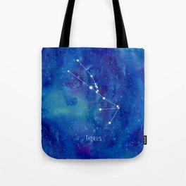 Constellation Taurus Tote Bag
