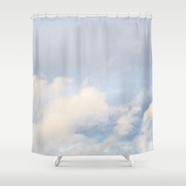 Clouds in November 5 Shower Curtain