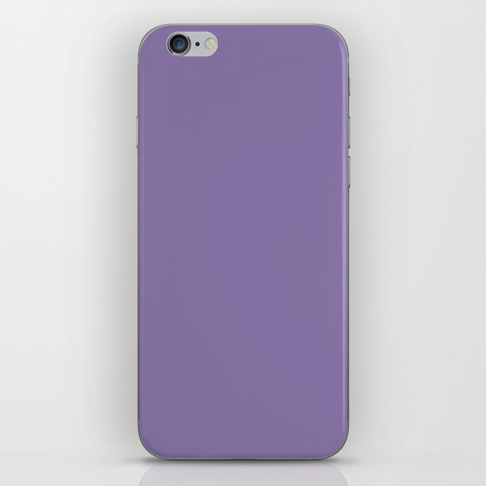 Solid Colors Series - Pale Blue Violet iPhone Skin