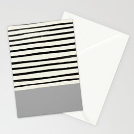 Storm Grey x Stripes Stationery Cards