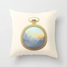 Dawning on me Throw Pillow