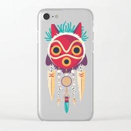 Spirit Catcher Clear iPhone Case
