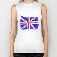 flag Biker Tanks featuring Flag by Svetlana Sewell