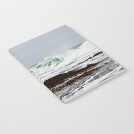 Green Wave Breaking Notebook