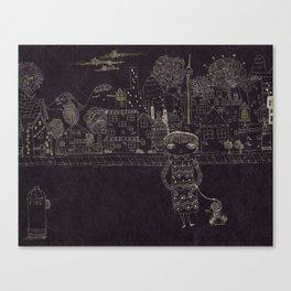 Last night Dream Canvas Print