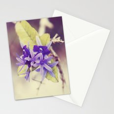 Cloaked in Purple Stationery Cards