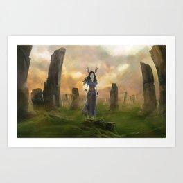 Seers Isle: Cromlech Art Print