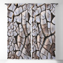 background clay cracked drought Blackout Curtain