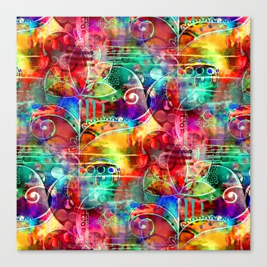 Flowers In My Soul Canvas Print
