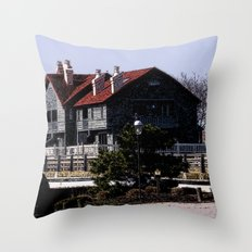 By Dock Mike's Throw Pillow