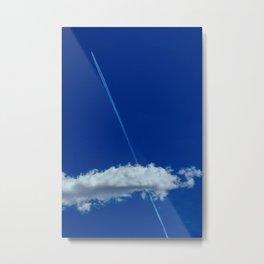 Shoot through the sky Metal Print