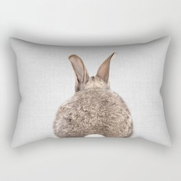 Rabbit Tail - Colorful Rectangular Pillow