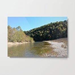 Where Canoes and Raccoons Go Series, No. 20 Metal Print
