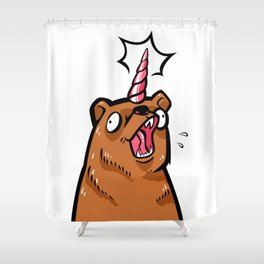 Le Beau Jeu Shower Curtain