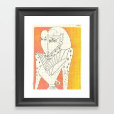 Woman_2 Framed Art Print