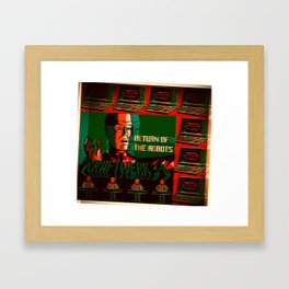 Return Of Computer Love Robots Framed Art Print