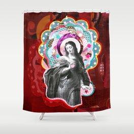 Maria (mãe de Jesus) Mary (mother of Jesus) #3 Shower Curtain