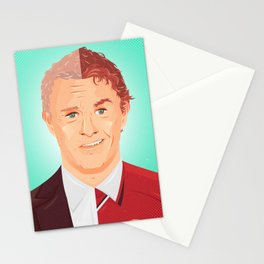 Two Faces of Ole Gunnar Solskjaer Stationery Cards