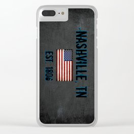 Music City Clear iPhone Case