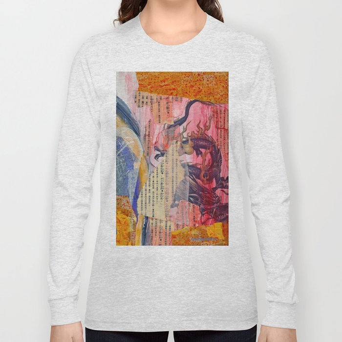 Collage Love - Zhong Long Long Sleeve T-shirt