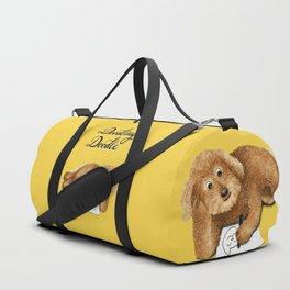 Doodling Doodle (Yellow) Duffle Bag