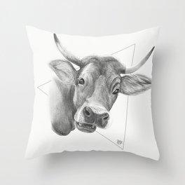 Udder Nonsense Throw Pillow