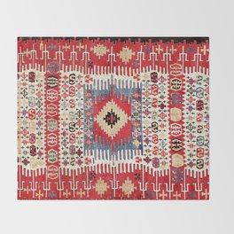 Sivrihisar Eskisehir Province Anatolian Kilim Throw Blanket