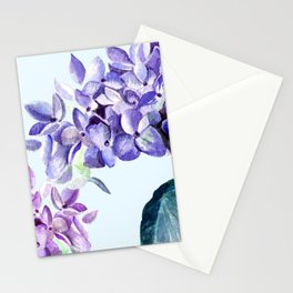 Hydrangea blue hues Stationery Cards
