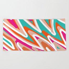 Color Vibes Beach Towel