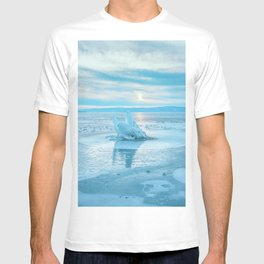 The Strange Ice Circle of Baikal T-shirt